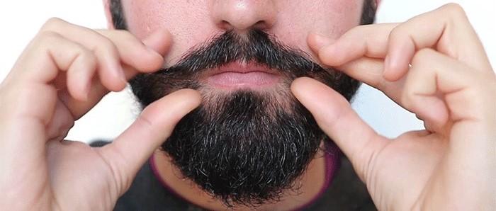 Выпрямление бороды в домашних условиях