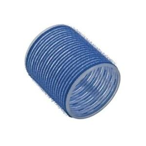 Бигуди-липучки Tico d-50 мм 6 шт голубые 300005