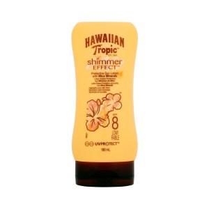 Молочко для загара Hawaiian Tropic Shimmer Effect SPF 8 180 мл