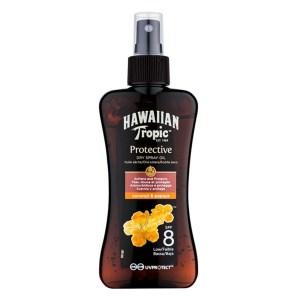 Водостойкое сухое масло для загара Hawaiian Tropic Protective SPF 8 200 мл