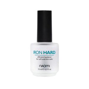Тройное укрепляющее покрытие для ногтей Naomi Iron Hard 15 мл