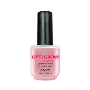 Средство для укрепления и роста ногтей Naomi Oxygen Opti Grow 15 мл