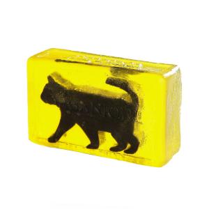 Глицериновое мыло куб Organique Черный кот 100 г