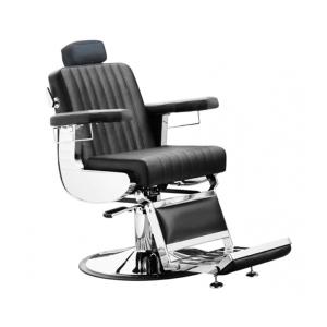 Кресло для барбера Comair Diplomat 7001134 на гидравлическом подъемнике черное
