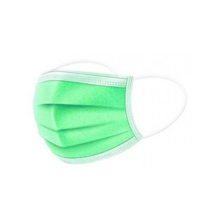 Маски медицинские SanGig Зеленые 50 шт