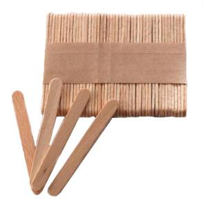 Шпатель деревянный Silk & Soft узкий 100 шт