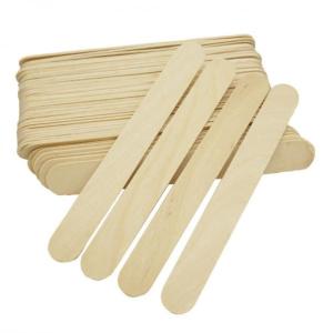 Шпатель деревянный Silk & Soft обычный 100 шт