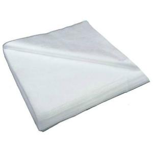 Полотенца нарезные гладкие Rio 50x80см белые 100 шт