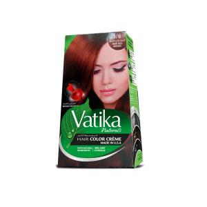 Краска для волос Dabur Vatika Naturals красно-коричневый 100 мл