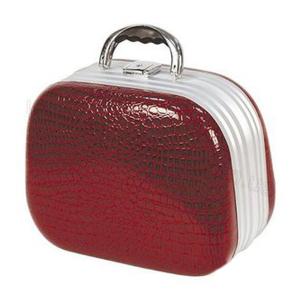 Чемодан Hairway 28553-17 искусственная кожа темно красный
