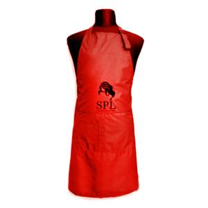 Фартук SPL 905071E Medium односторонний красный
