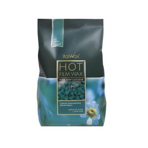 Воск в гранулах ItalWax горячий азулен 1 кг