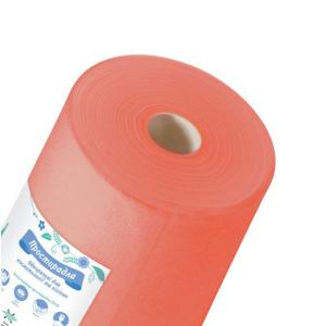Одноразовые простыни K.tex 20 оранжевые 0,8 х 100 м 20 микрон