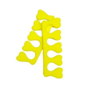 Распорки для педикюра Kalipso желтые