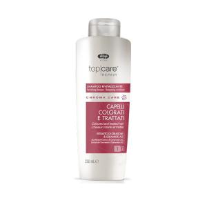 Оживляющий шампунь Lisap Chroma Care без сульфатов для химически поврежденных и окрашенных волос 250 мл