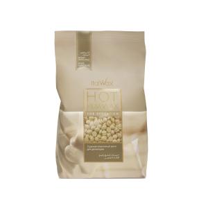 Воск в гранулах ItalWax горячий белый шоколад 1 кг