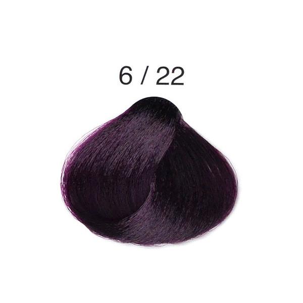 Крем-краска Alter Ego Techno Fruit Color 6/22 насыщенный фиолетовый темный блондин 100 мл