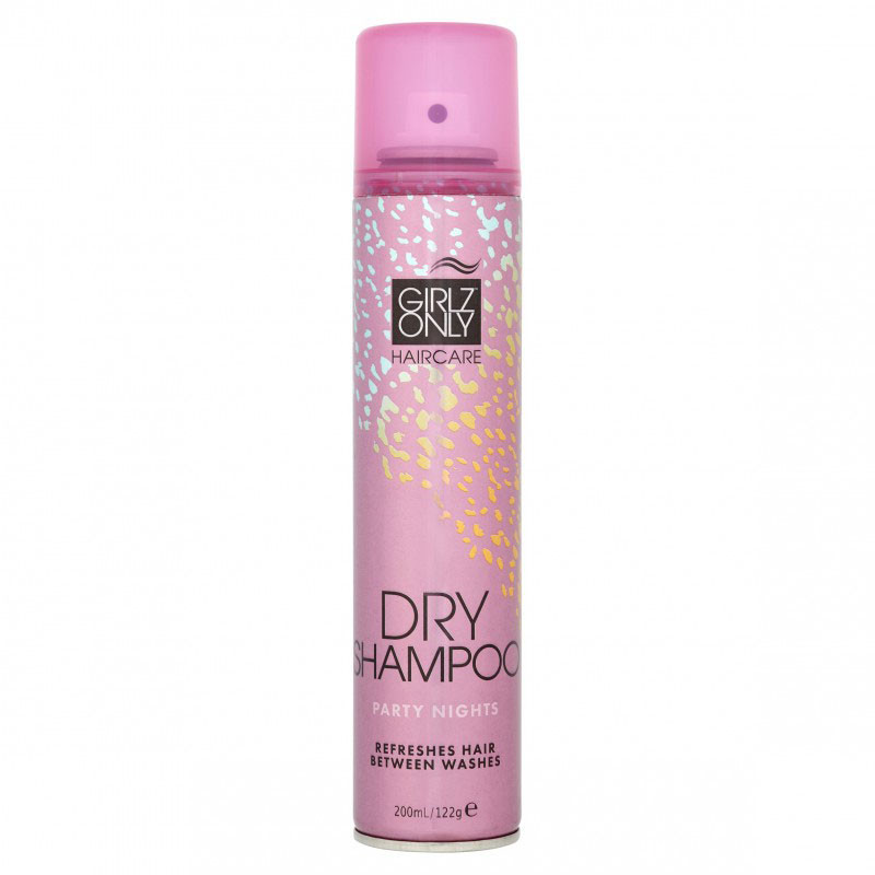 Сухой шампунь Girlz Only Dry Shampoo Party Nights 200 мл