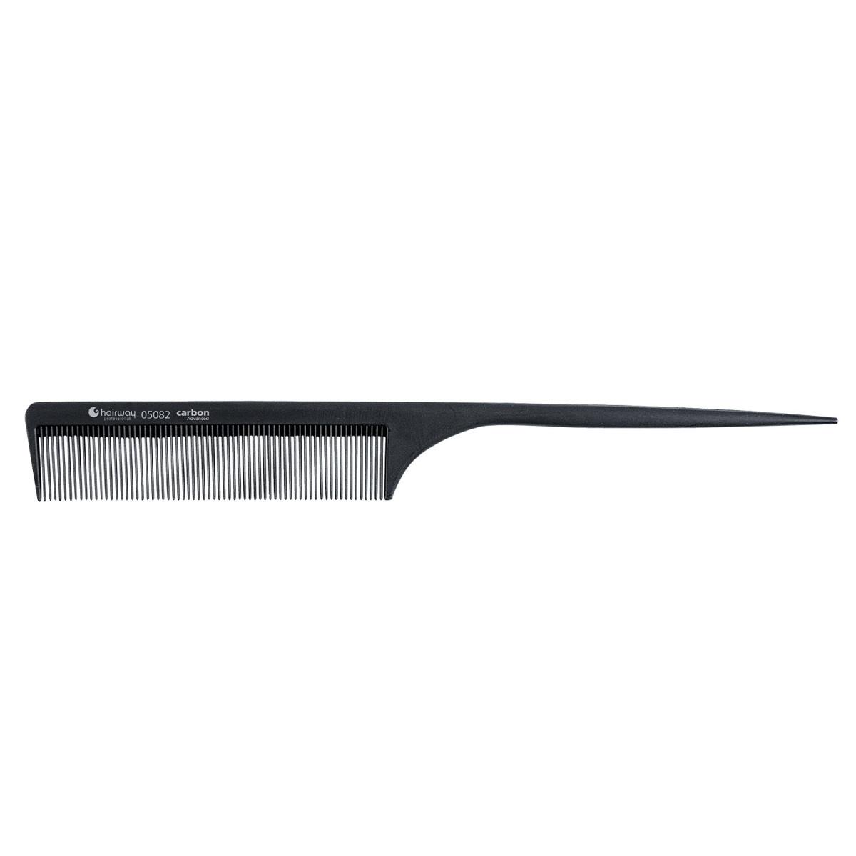 Гребень Hairway 05082 карбоновый гипоаллергенный 220 мм
