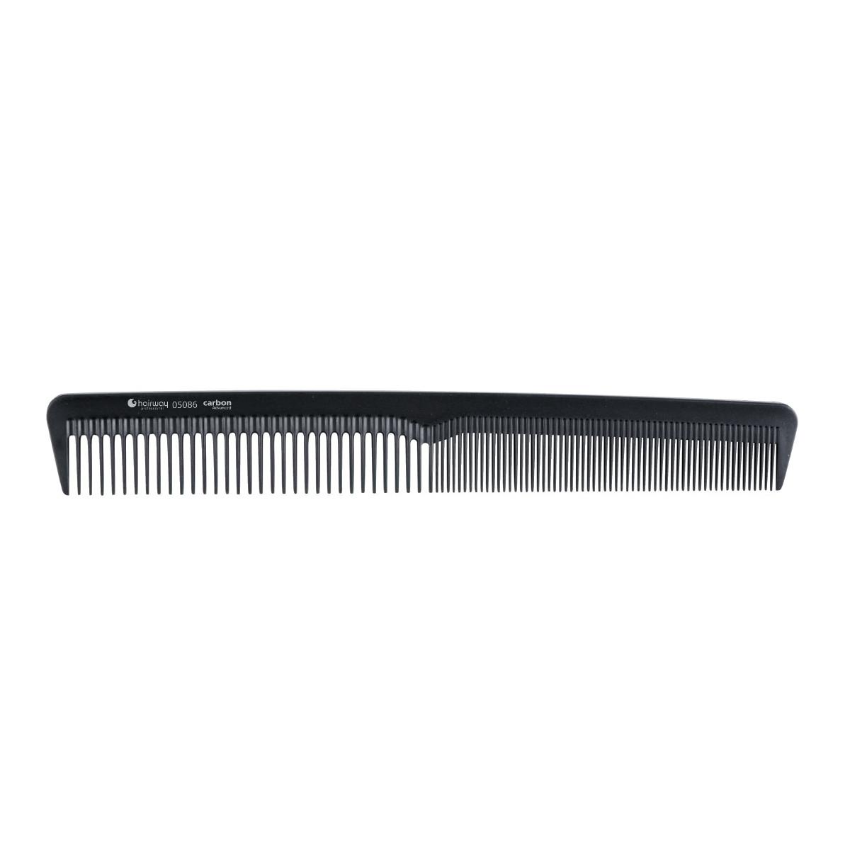 Гребень Hairway 05086 карбоновый гипоаллергенный 180 мм