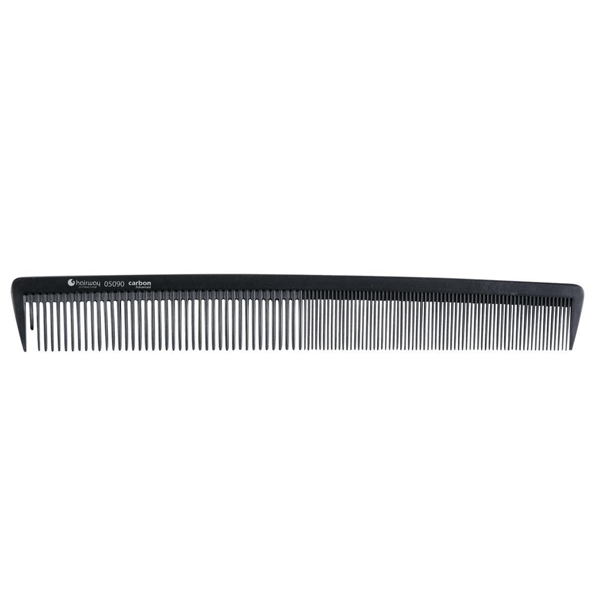 Гребень Hairway 05090 карбоновый гипоаллергенный 215 мм