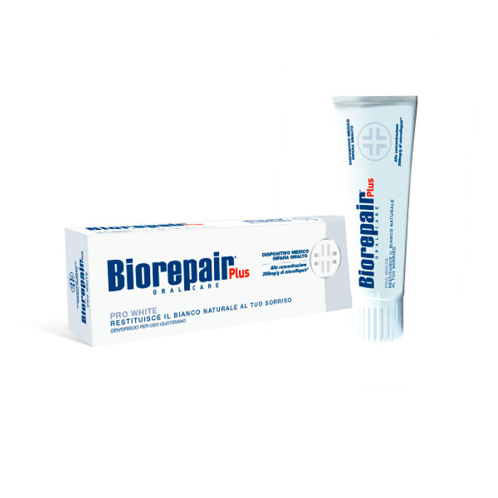 Професcиональная зубная паста Biorepair Plus Pro White 75 мл