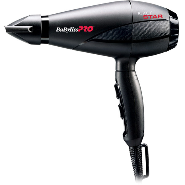 Фен для волос BaByliss 6200E Black Star
