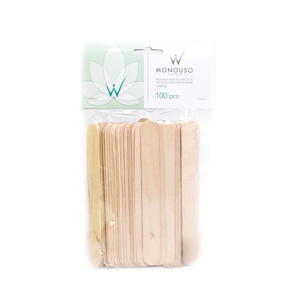 Шпатель деревянный Ital Wax 19 х 150 мм 100 шт