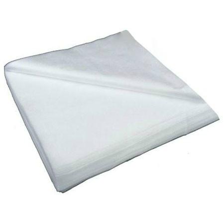 Полотенца нарезные гладкие Rio 40x70 см белые 100 шт