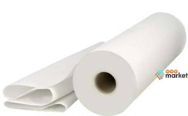 Полотенца в рулоне Etto спанлейс гладкий 50х80 см с перфорацией 100 шт