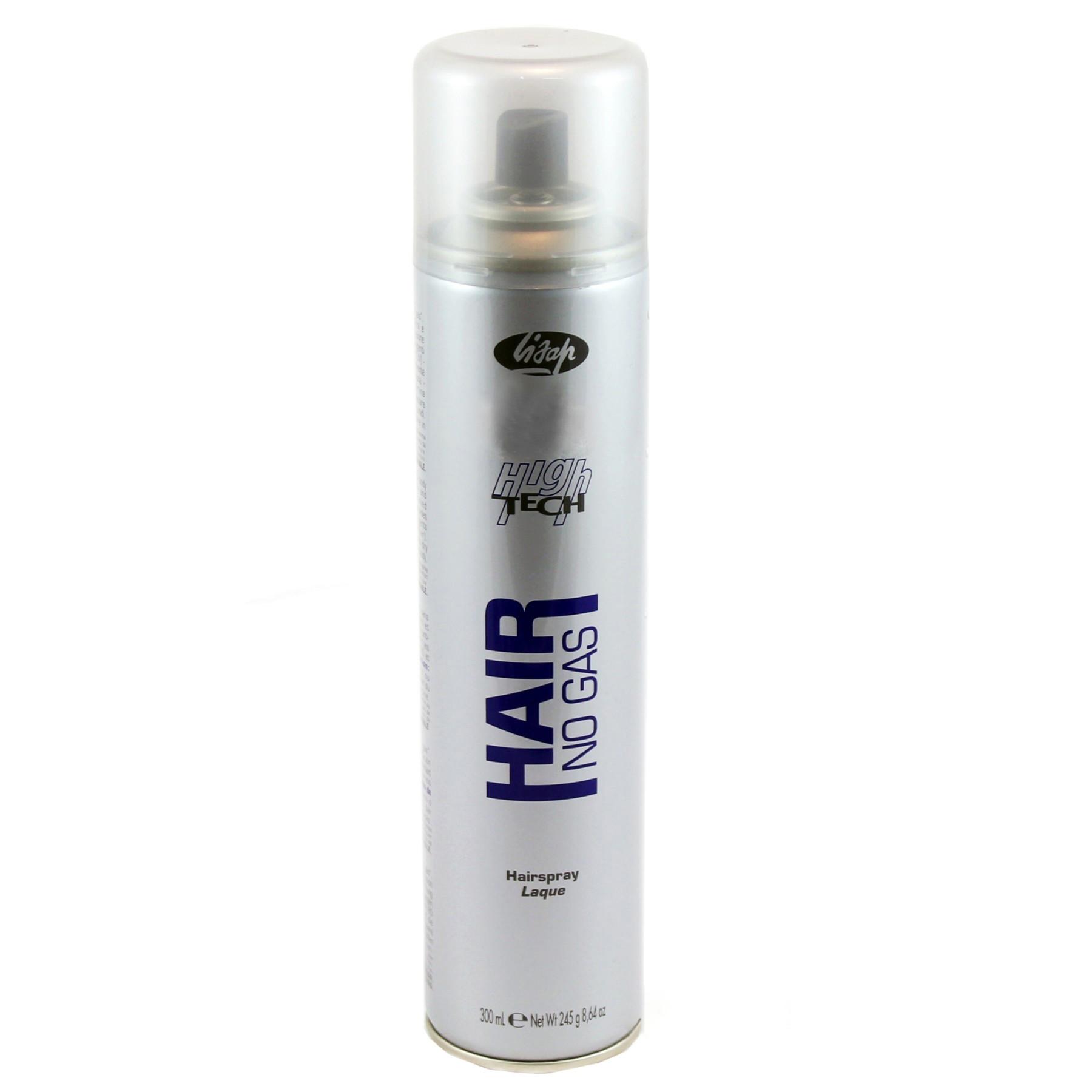Лак нормальной фиксации без газа Lisap High Tech Hair No Gas Hairspray 300 мл