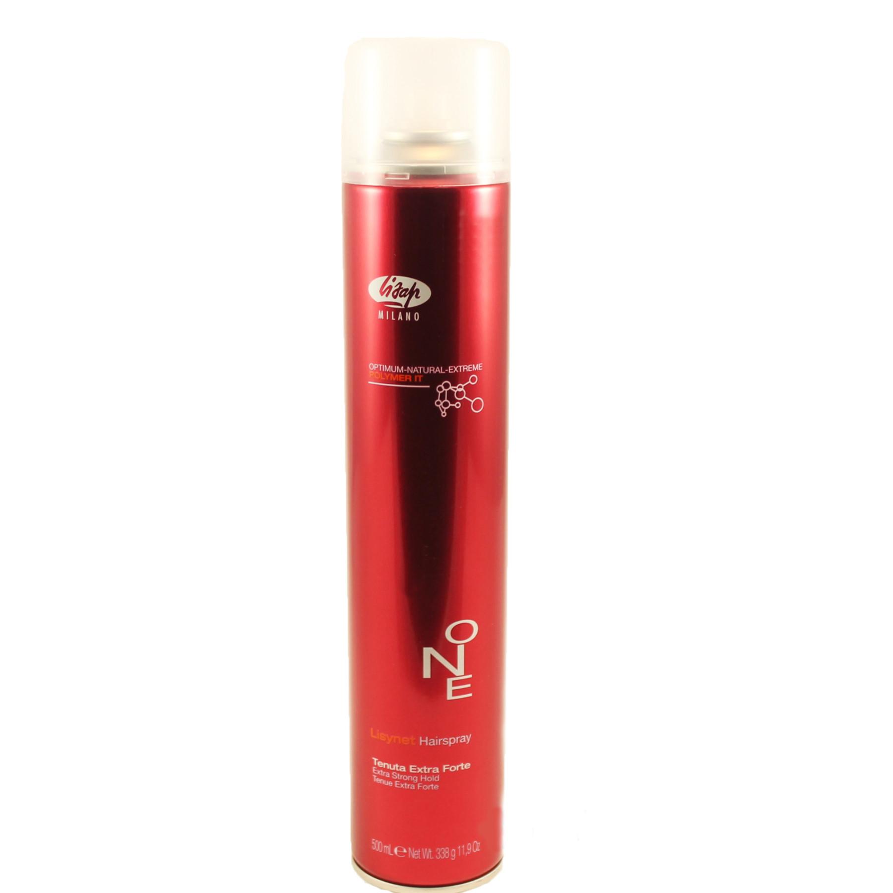 Лак для волос Lisap Lisynet One Extra Strong сильной фиксации 500 мл