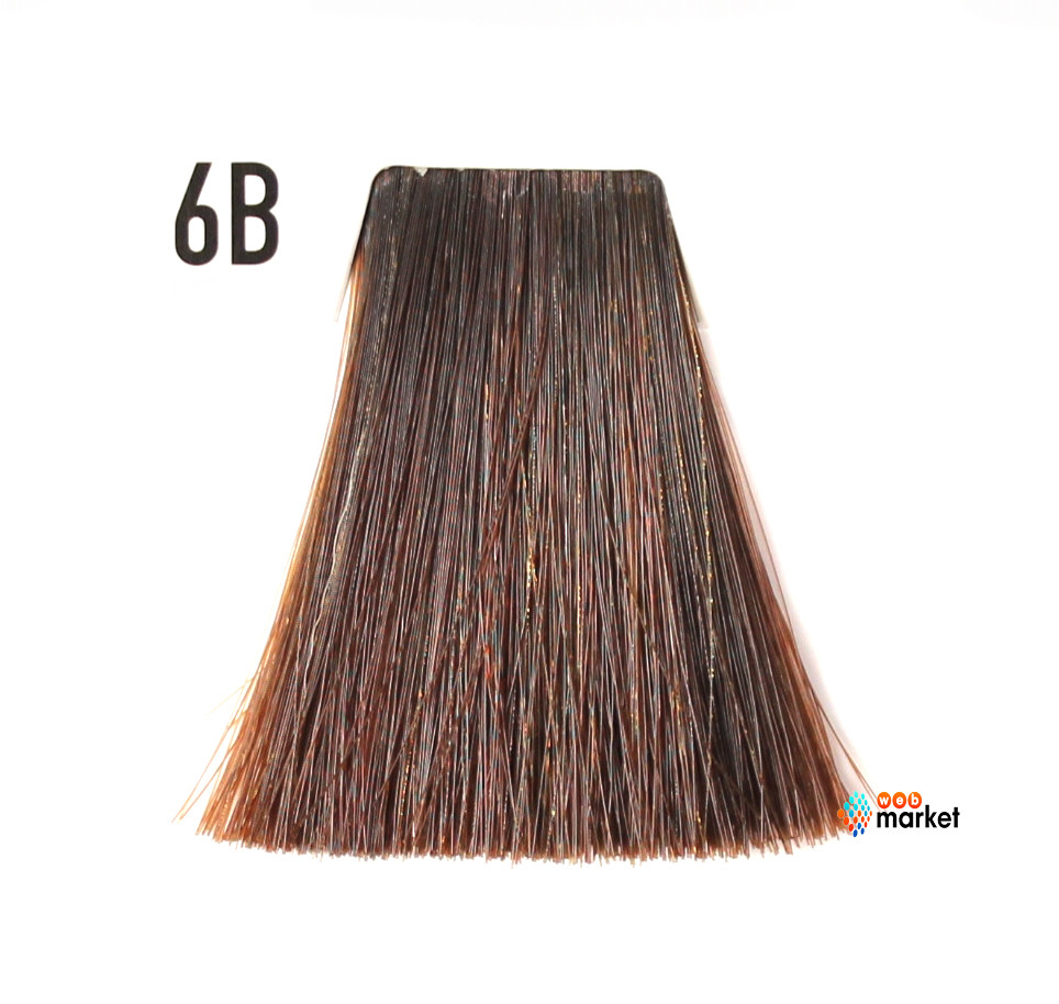 Краска для волос Goldwell Topchic 6B коричневый золотистый 60 мл