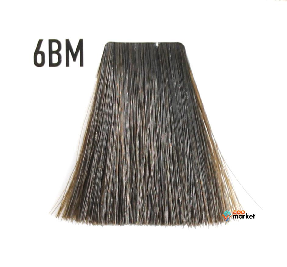 Краска для волос Goldwell Topchic 6BM светло-коричневый матовый 60 мл