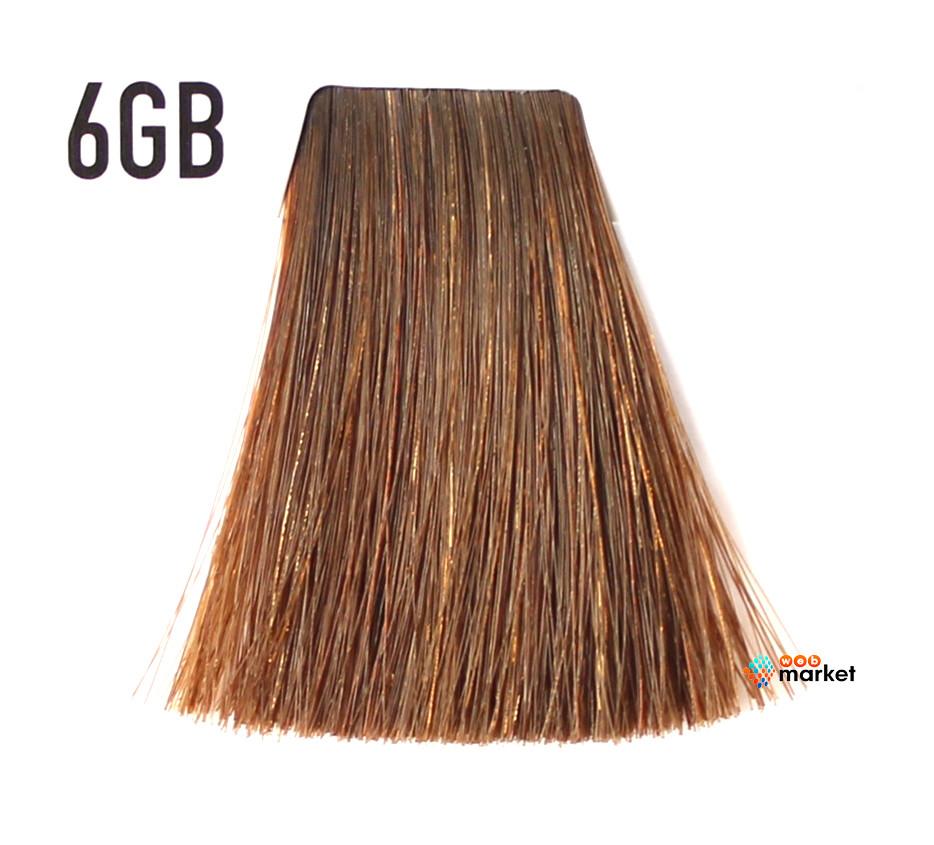 Краска для волос Goldwell Topchic 6GB темный золотисто-коричневый блондин 60 мл
