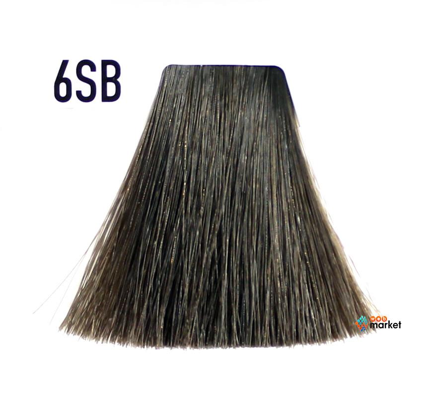 Краска для волос Goldwell Topchic 6SB серебристо-коричневый 60 мл