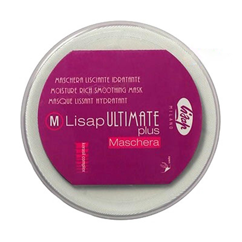 Маска для выпрямления Lisap Ultimate Plus Moisture Rich Smoothing Mask 250 мл
