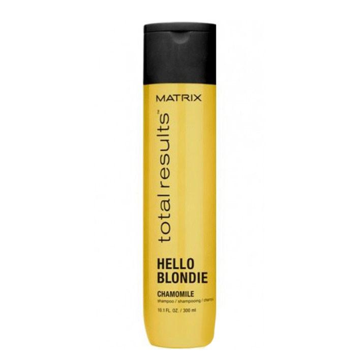 Шампунь Matrix Total Results Hello Blondie для светлых волос с экстрактом ромашки 300 мл