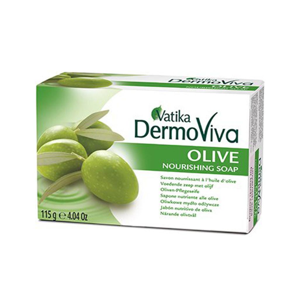 Мыло Vatika Dermoviva с оливой 115 г