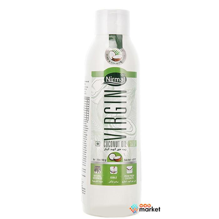 Кокосовое масло KLF Nirmal Virgin 200 мл
