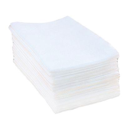 Полотенца нарезные сетка Rio 40x70 см белые 100 шт