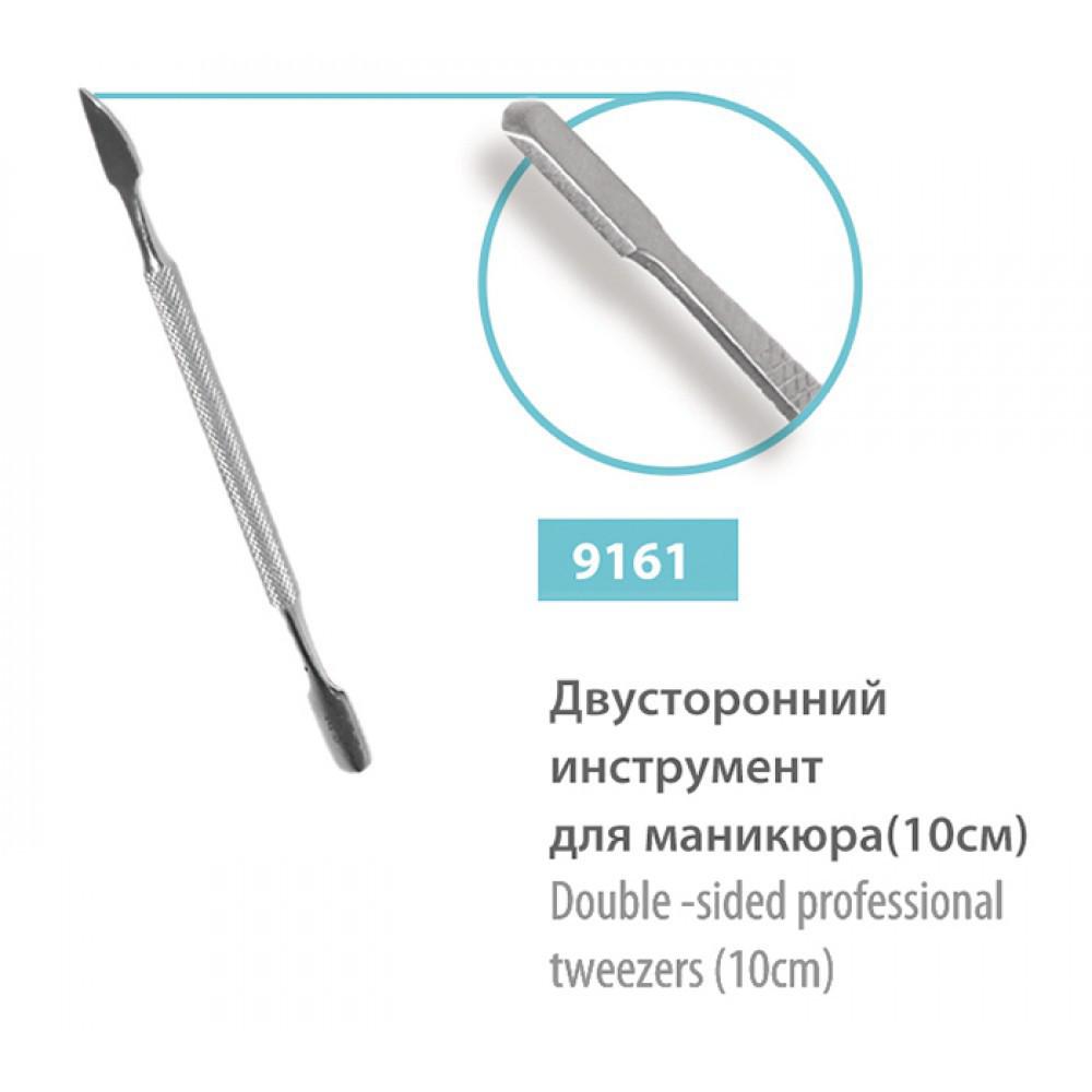 Лопатка маникюрная SPL 9161 двусторонняя круглая 10 см