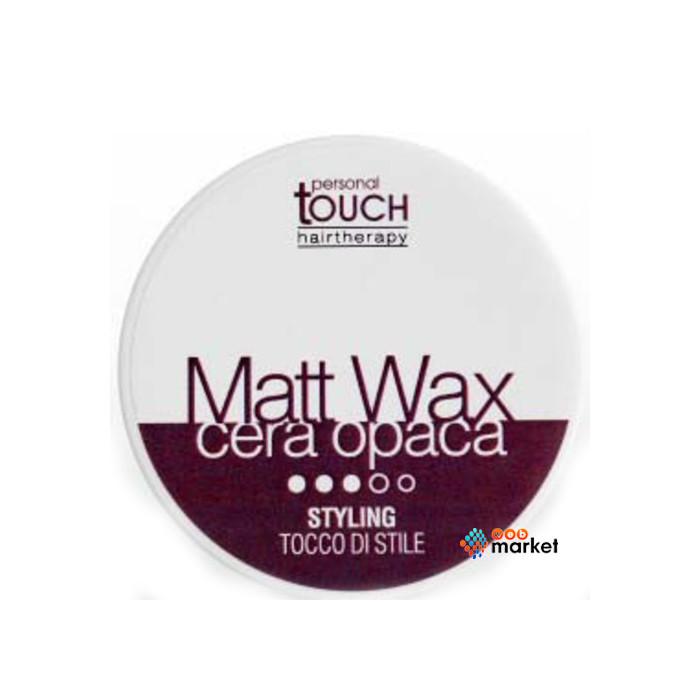 Воск для волос Punti di Vista Personal Touch матовый без блеска 100 мл