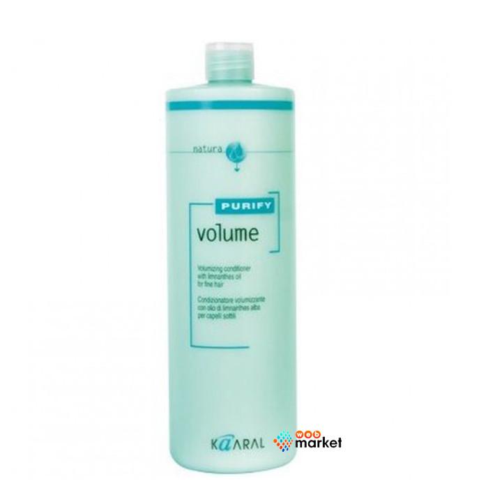 Крем-кондиционер Kaaral Volume для тонких волос с маслом лимнантеса 1000 мл