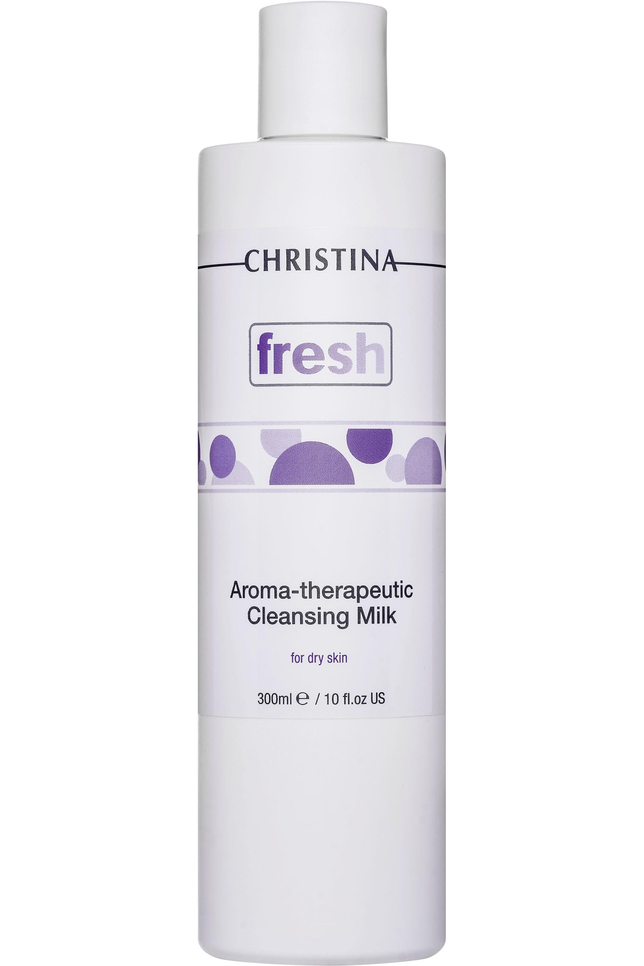 Очищающее молочко Christina Fresh-Aroma Theraputic Cleansing Milk для сухой кожи 300 мл