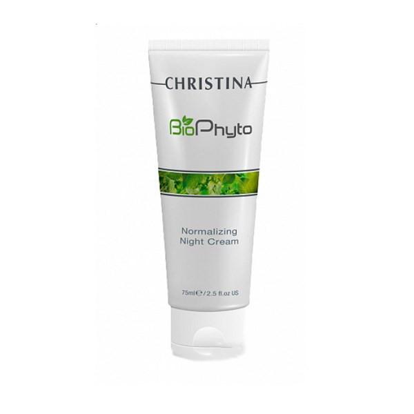 Ночной крем Christina Bio Phyto Normalizing Night Cream Нормализующий 75 мл