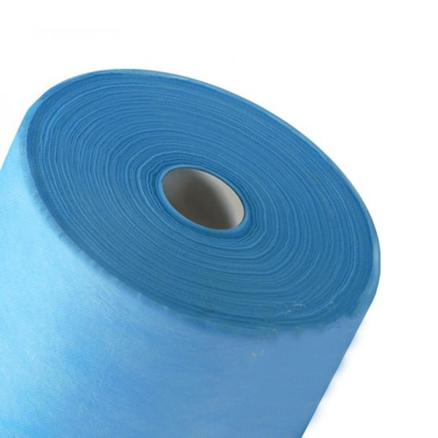 Одноразовые простыни K.tex 20 голубой 0,6х100 м