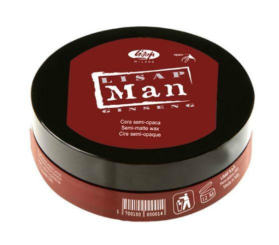 Моделирующий воск для волос Lisap Man Semi-Matte Wax 100 мл