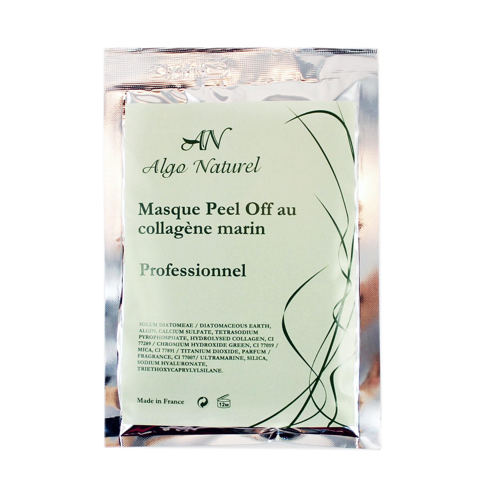 Альгинатная маска Algo Naturel альгинатная с гиалуроновой кислотой и морским коллагеном 25 г