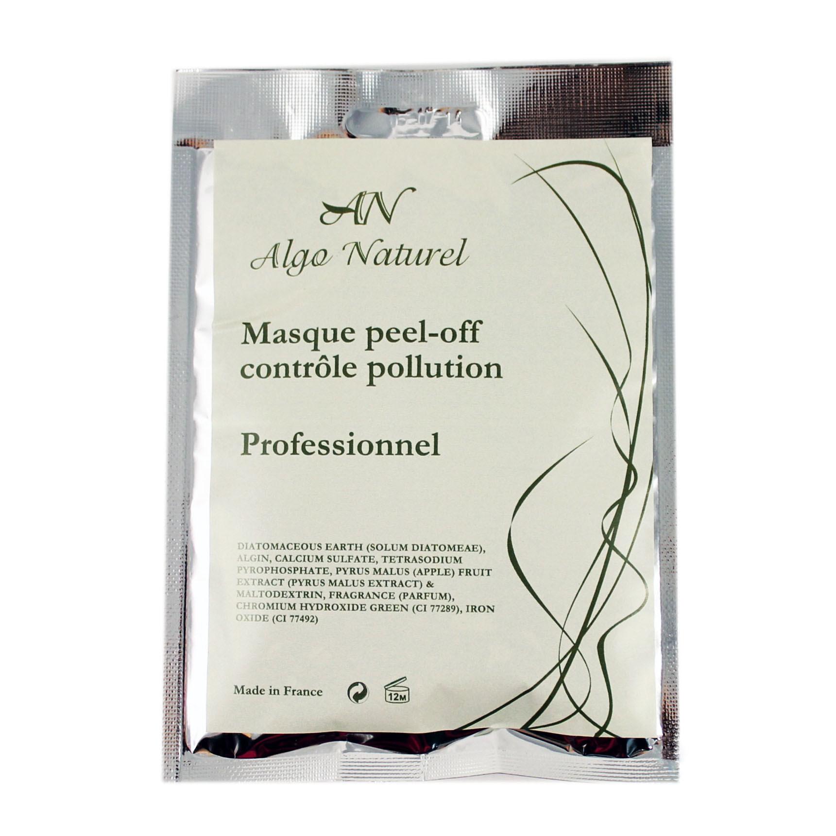 Альгинатная маска Algo Naturel антиоксидантная с экстрактом зеленого яблока 25 г